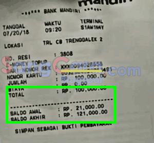 Pin Di Cara Mengisi Saldo E Money Di Atm Mandiri Top Up Gratis Biaya