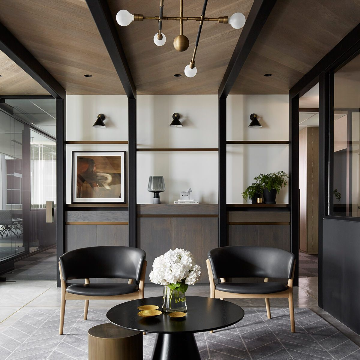 Living Room Ceiling Design Director: Mim Design / Pask Group Offices, Melbourne