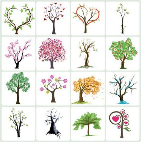 Входящие — Рамблер/почта | Абстрактные деревья, Эскизы ...
