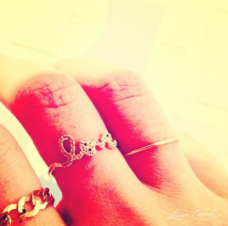 awesome ring @Lauren Conrad