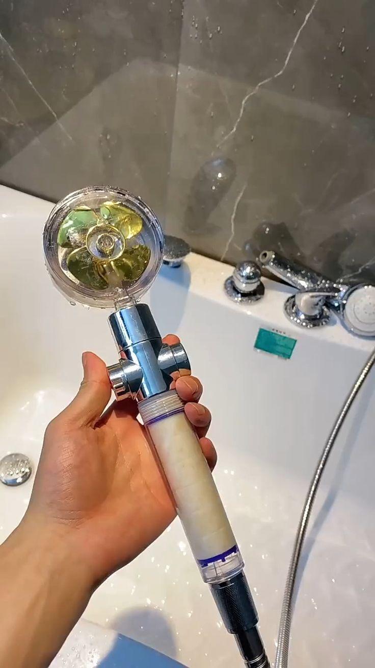 Elegant Stress relieving shower head