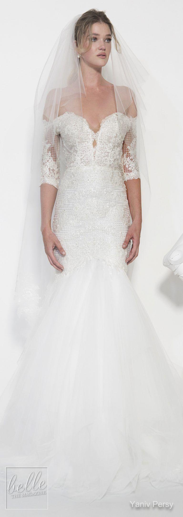 Yaniv persy wedding dresses spring bridal collection wedding