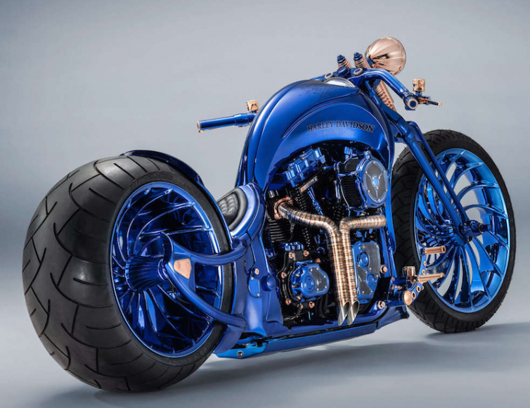 Harley Davidson Is The Most Expensive Bike In The World And It Costs More Than A Bugatti Veyron Avto