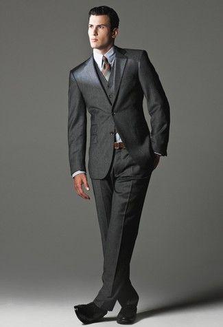 Tommy Hilfiger's wool jacket 375 vest 95 pants 120 and Izod's cotton and polyester shirt 4250 Polo Ralph Lauren tie 115 Ralph Lauren belt Calvin Klein shoes 140
