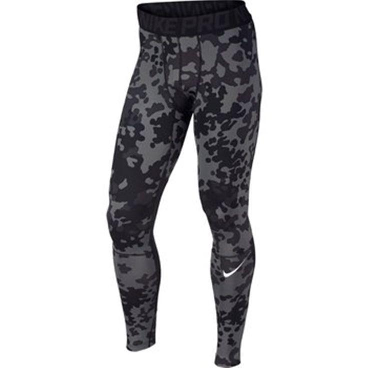 Nike Pro Combat Hyperwarm Dri-FIT Max Compression Ambush Tights 699972 Large