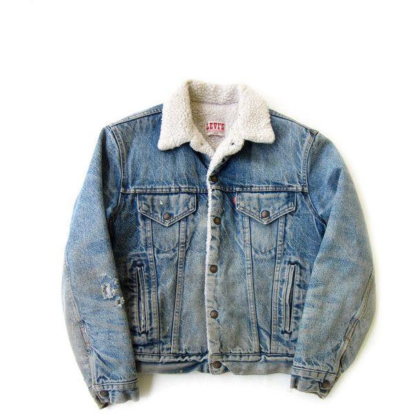 Vintage Levi S Sherpa Denim Trucker Jacket Dark Wash Men L 46 Levis Jean Jacket Fleece Lined 80s 90s Grunge Le Levis Jean Jacket Trucker Jacket Vintage Outfits