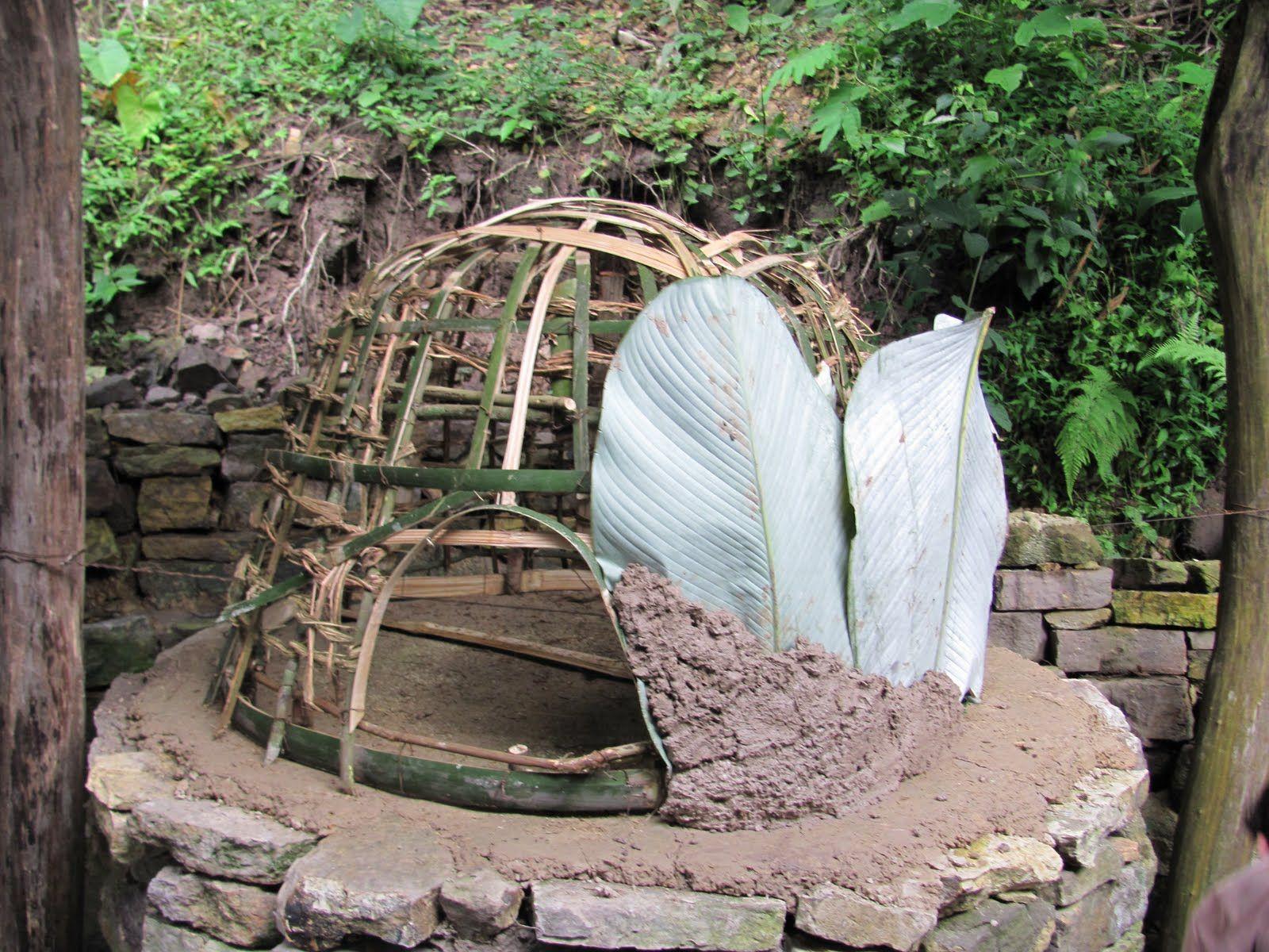 Como hacer hornos con barro y ramas paso a paso buscar - Hornos a lena construccion ...