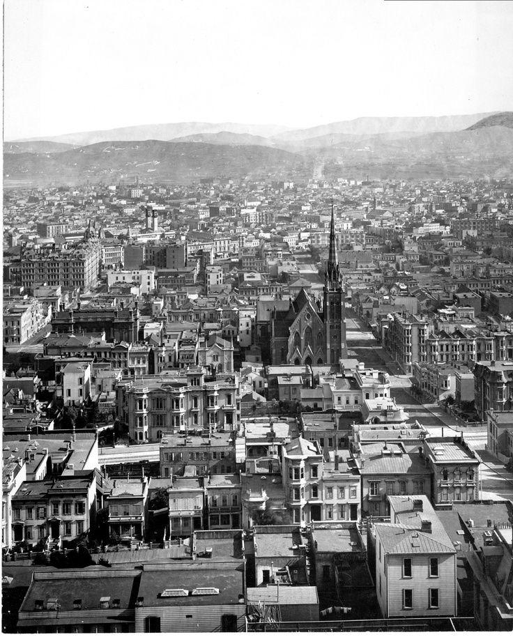 San Francisco Panorama, 1878 - Retronaut