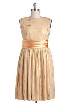 So pretty! Refined Finalist Dress, #ModCloth