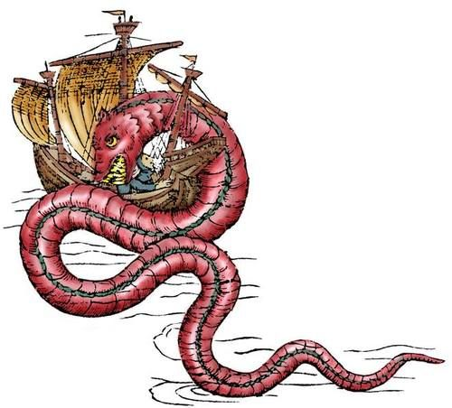 Beasties Of The Deep Learn What Early Cartographers Really Thought Lurked In The Depths In Today S La Vie Sirene Article By Merid Sea Monsters Sea Serpent Sea