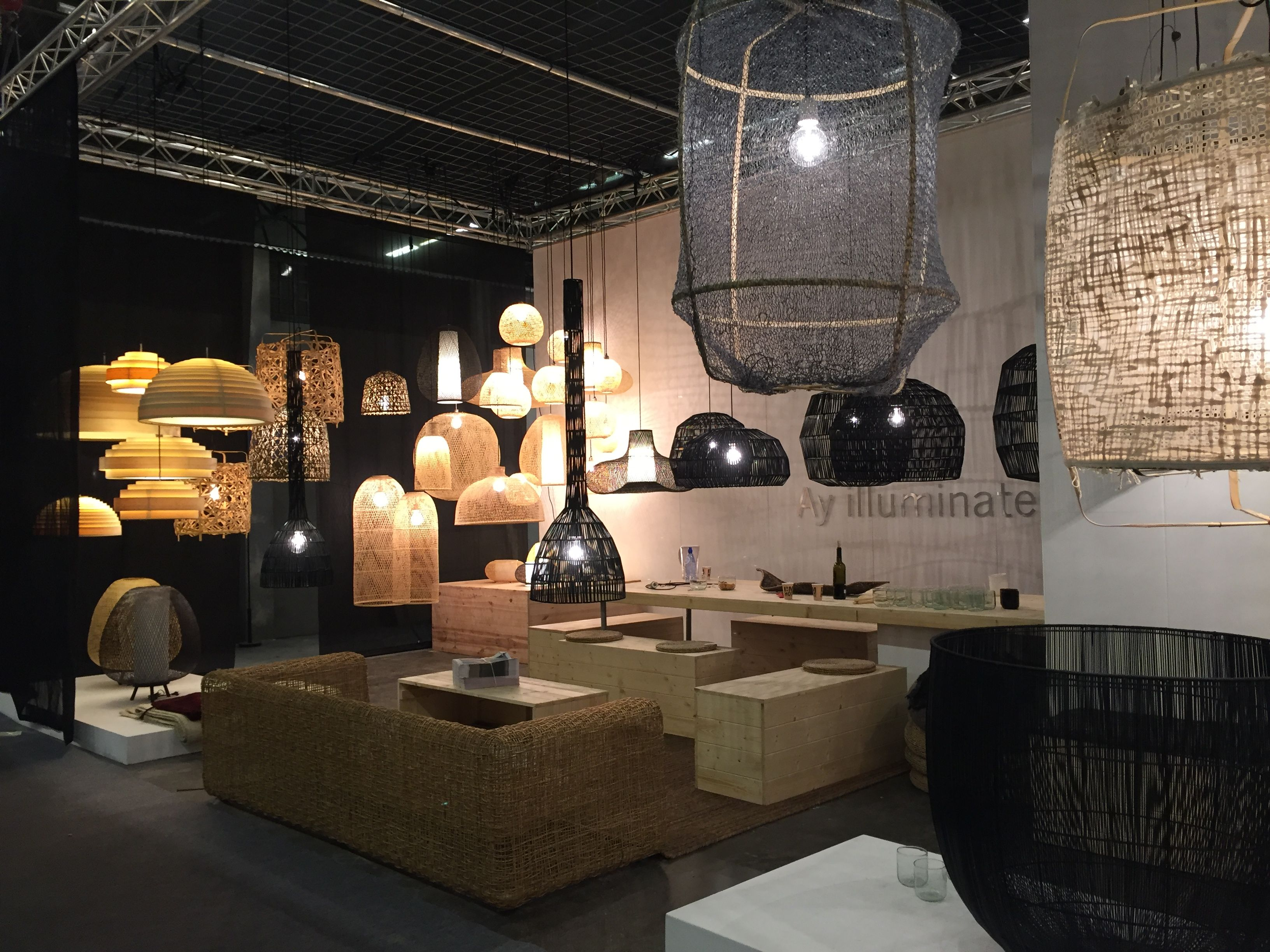 Design Ay Illuminate : Ay illuminate at maison&objet paris jan.2017 lamp. โคมไฟ pinterest