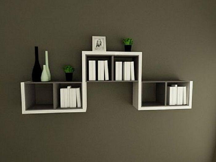 decorative wall mounted book shelves design http on wall mount bookshelf id=55419