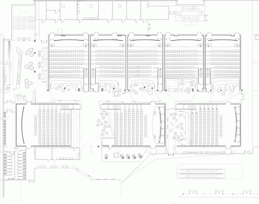 Kronverk Cinema Robert Majkut Design Cinema Design Cinema Architecture Mall Design