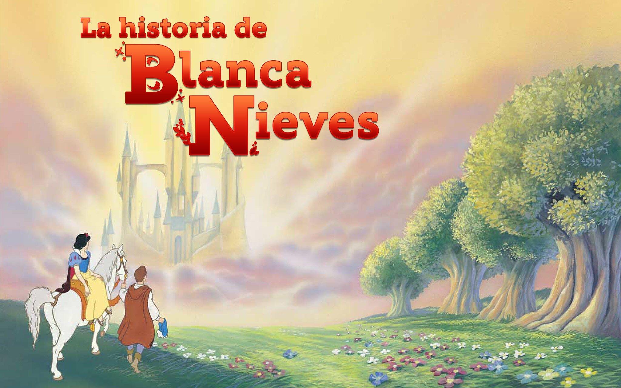 Cuentos De Princesas La Historia De Blanca Nieves Disney Ajá Disney Princess Books Snow White Cartoon Drawings Of Animals
