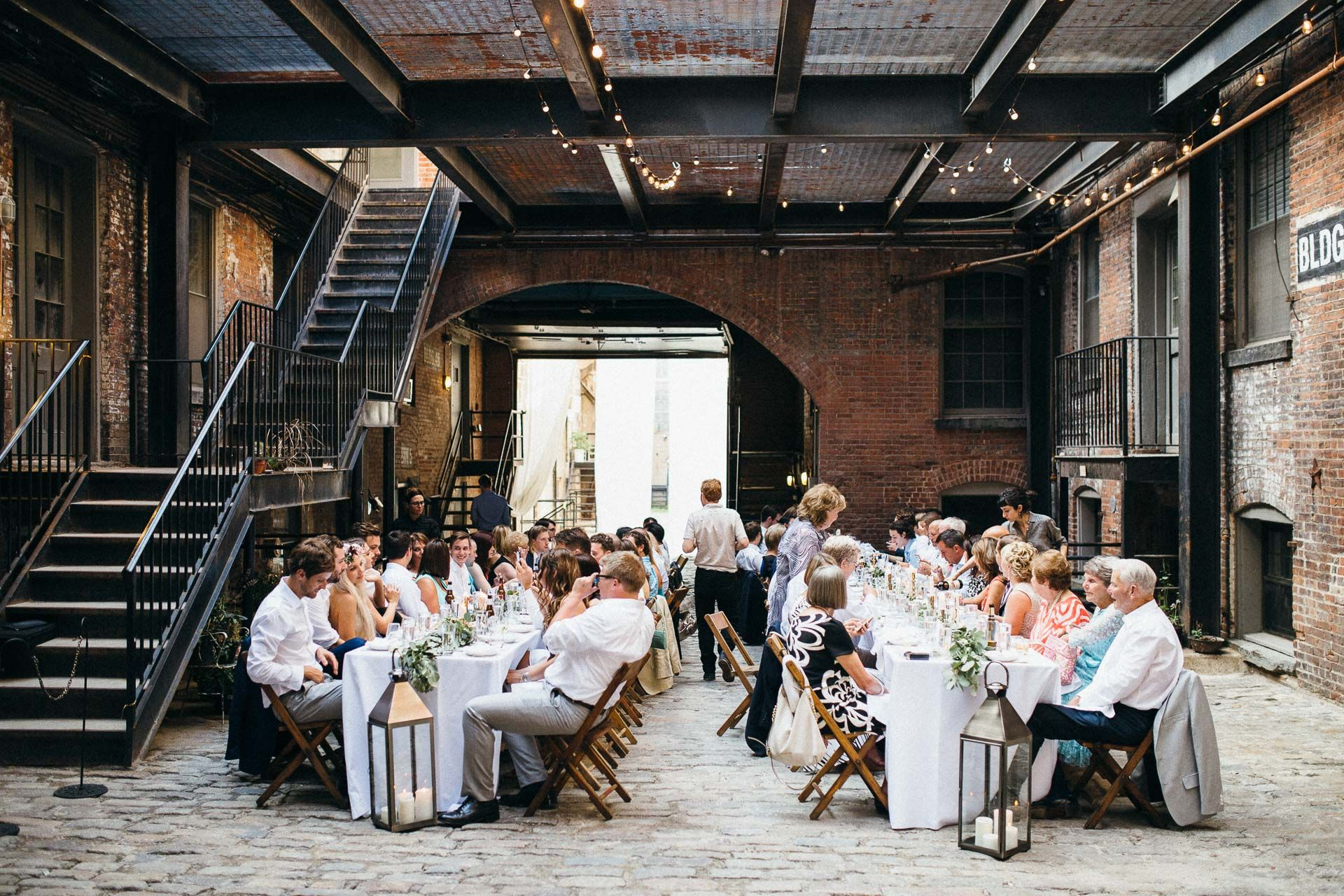 Maris & Brock's Wedding at The Glasserie, Greenpoint,Brooklyn, New