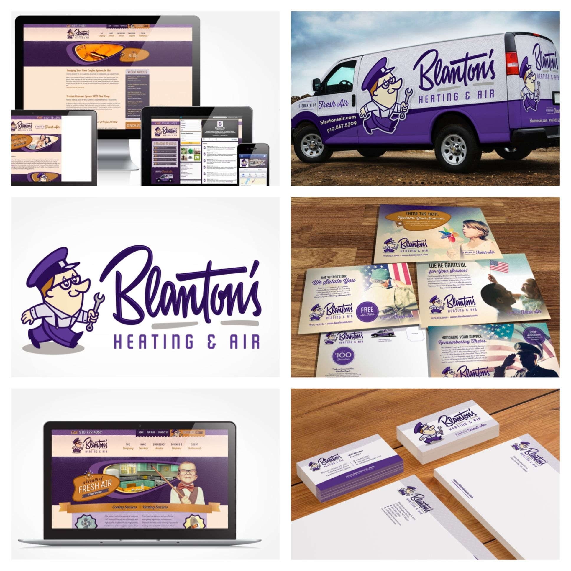 Hvac Branding From Print To Digital To Beyond See How We Set This