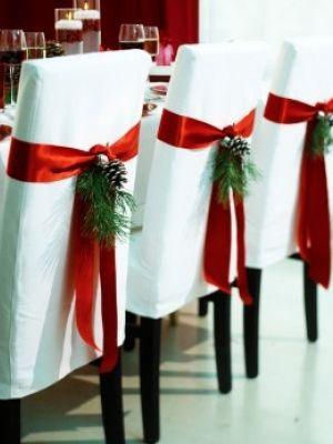 Winter wedding ideas seat decor #rockmywinterwedding @Derek Smith My