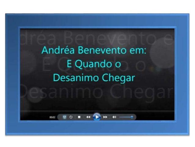 Em algum momento do caminho você vai se sentir desanimado…  http://www.andreabenevento.com/projetovida&ad=pintdes
