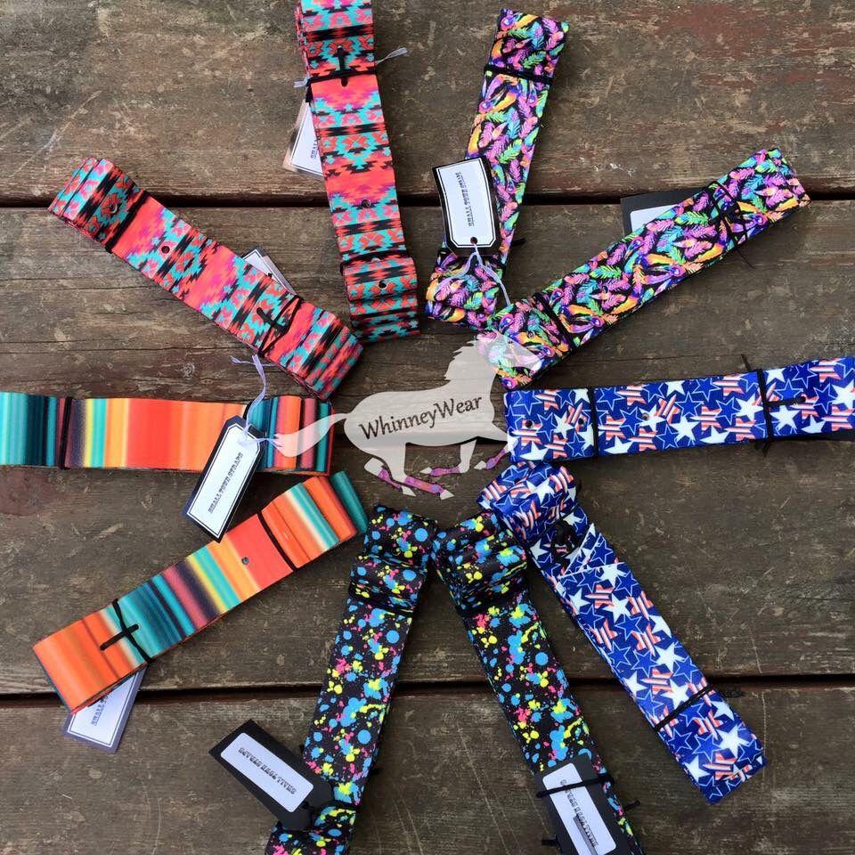 8b1cf2e509d4 Printed latigo cinch straps, purchase at www.whinneywear.com ...