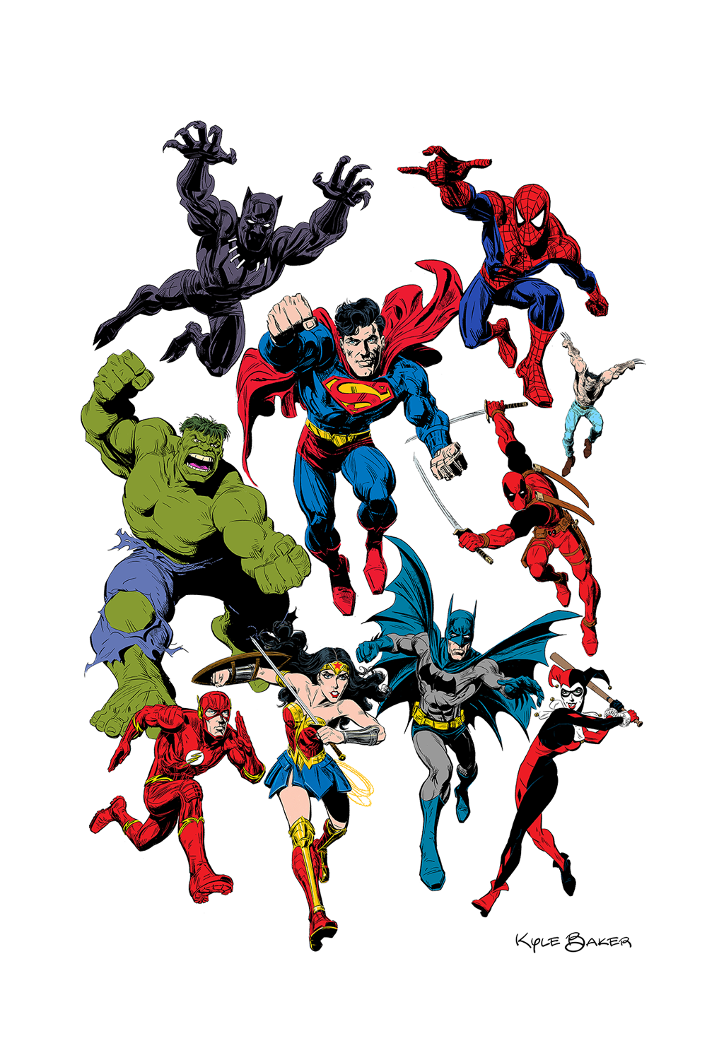 Marvel And Dc Superheroes Marvel And Dc Superheroes Dc Superheroes Cartoon