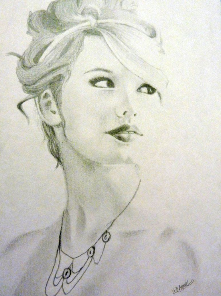 Celebrity Sketch-Taylor Swift by ~RachCook22   Art - Drawings ...