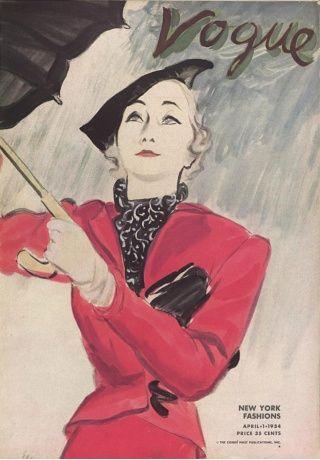 1934, portada de Vogue por Schiaparelli