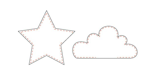 How To's Day: Star and Cloud Shape Pillows Tutorial