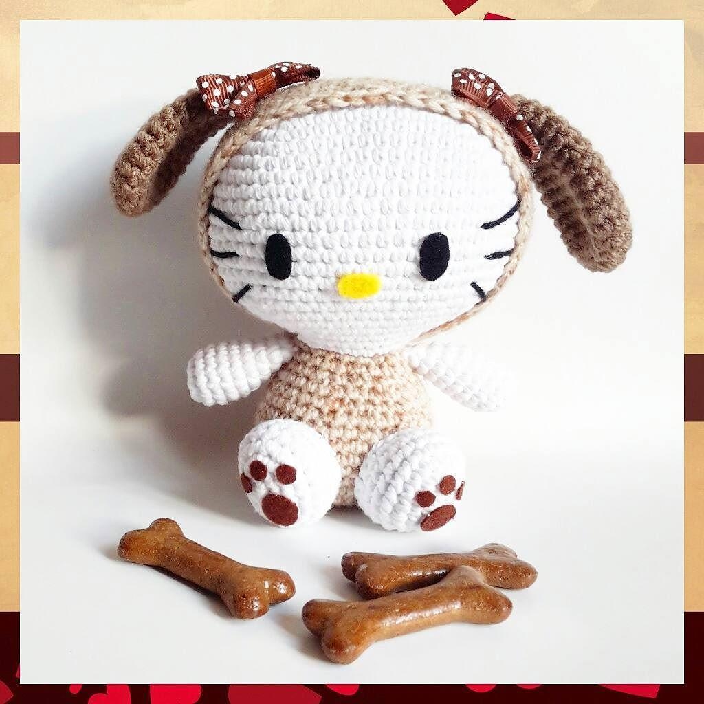 Köpeğim hav hav hav hav der  köpeğim benden ne ister? Akıllı durdu #hellokitty köpekçim benim bi kraker verelim bugün   #häkeln #Spielzeug #handarbeit #amigurumi #hund #crochet #toy #dog #handmade #craft #gift #puppy #örgü #oyuncak #örgüoyuncak  #gurumigram #elişi #elemeği #köpek #bebekoyuncak #hediye #hediyelik #oyuncakbebek #yavru #вязание #игрушки #амигуруми #ручнаяработа #weamiguru by i.can.crochet.that