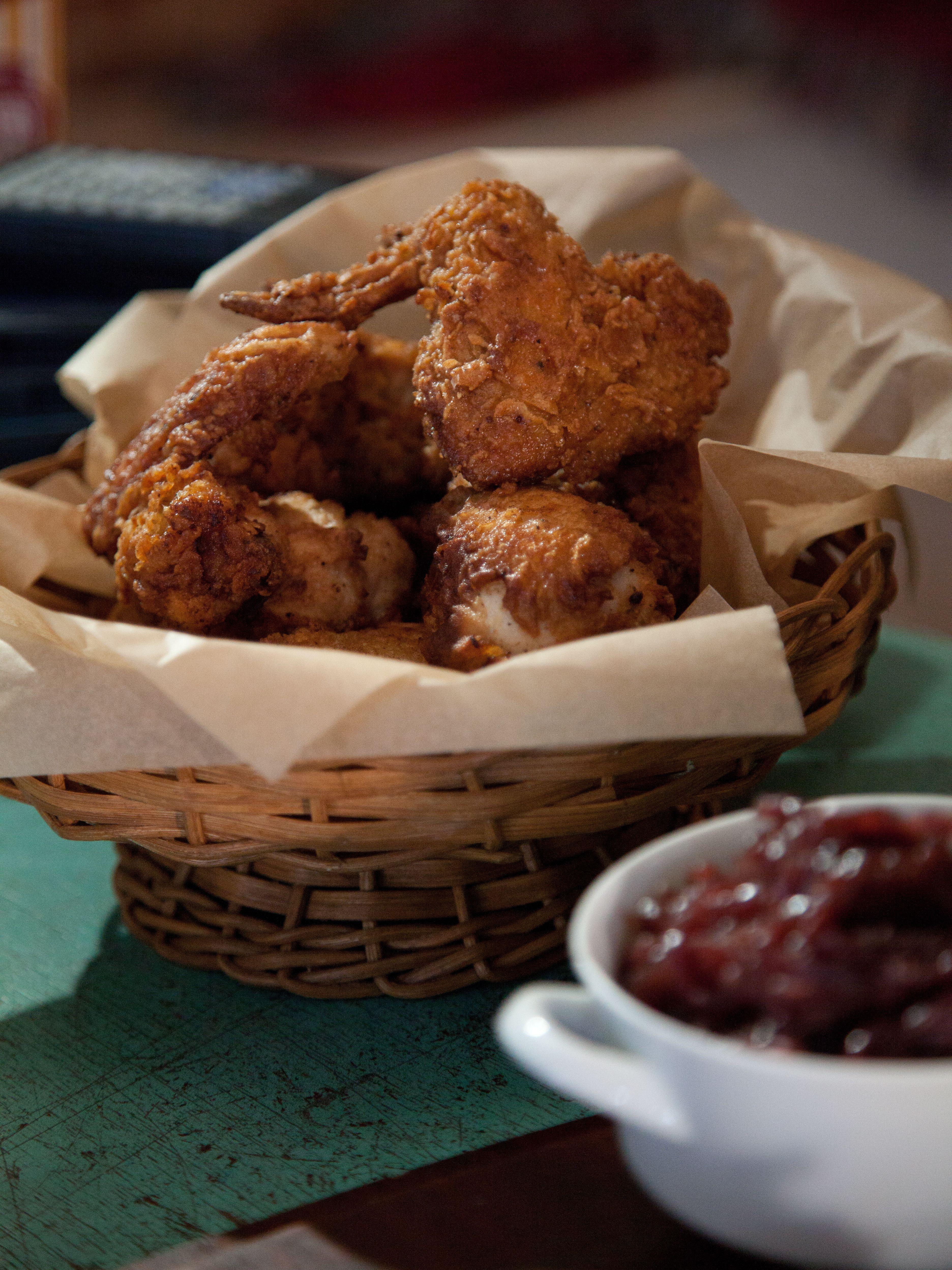 Fried chicken in a basket recipe fried chicken food and recipes fried chicken in a basket forumfinder Images