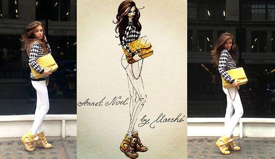 Isabel Marant Sneaker Bekett Wedge Suede Grey