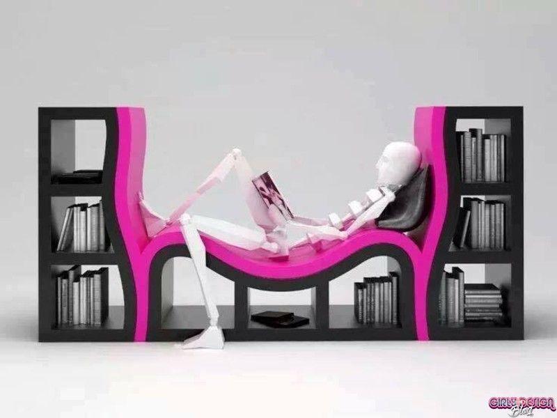 Innovative Bookshelves 37 innovative bookshelf designs - girly design blog   ideas para