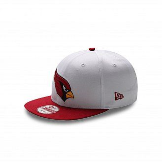 6b7cfd16d97d29 Birdhead on your head. Arizona Cardinals NFL White Top 9FIFTY ...
