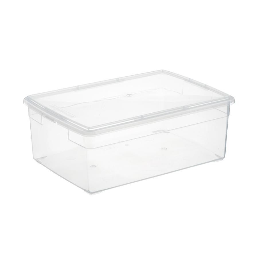 Our Clear Storage Boxes In 2020 Container Store Storage Boxes Plastic Box Storage