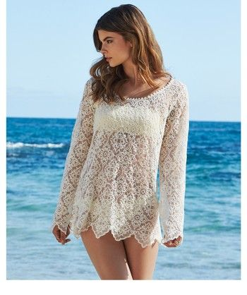 The Ella Moss Stella Tunic is the ideal cover-up for your inner bohemian. This stunning tunic has a comfortable fit and features vintage-inspired lace detail. ...