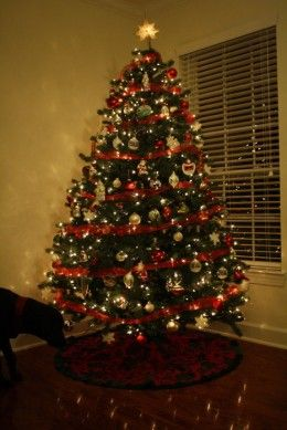 The Organized Dream: How To Decorate a Christmas Tree With Wide ...