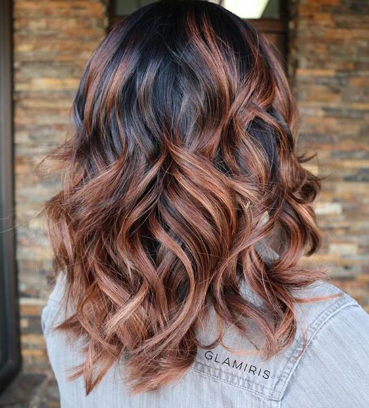 Cinnamon highlights on brown hair capelli pinterest warm cinnamon highlights on brown hair pmusecretfo Gallery