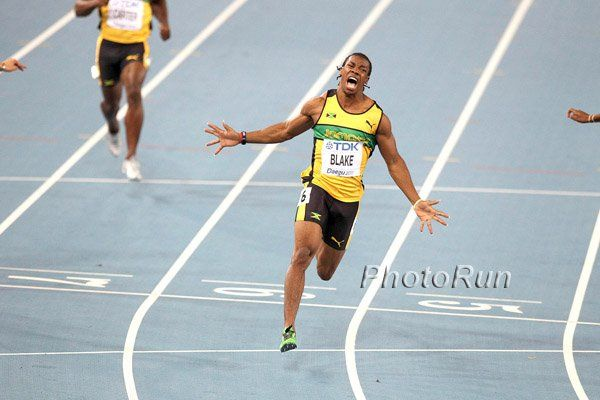 Yohan Blake runs second-fastest 100 of year, winning Cayman Invitational in 9.84 seconds - May 9 ...