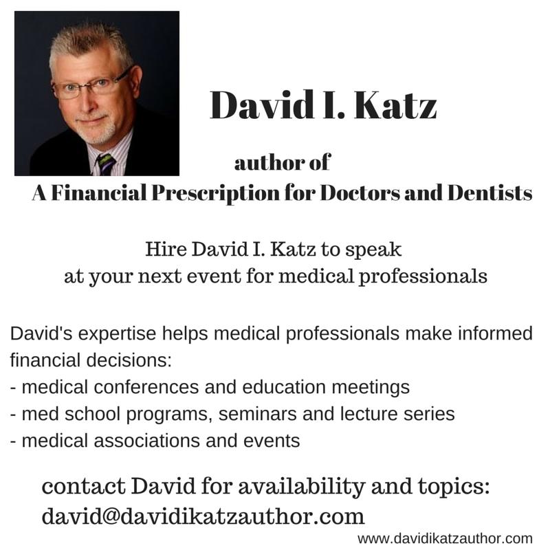 Hire David I. Katz to speak at your next event for medical professionals