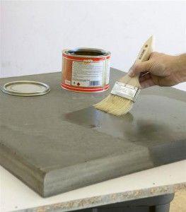Concrete Tutorial Bancadas De Cimento Artesanato De Cimento