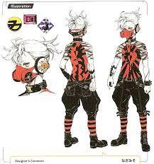 Картинки по запросу аниме парень концепт | Аниме, Дизайн ...