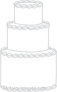wedding cake outline clip art wedding cake clip description clip of a wedding 23366
