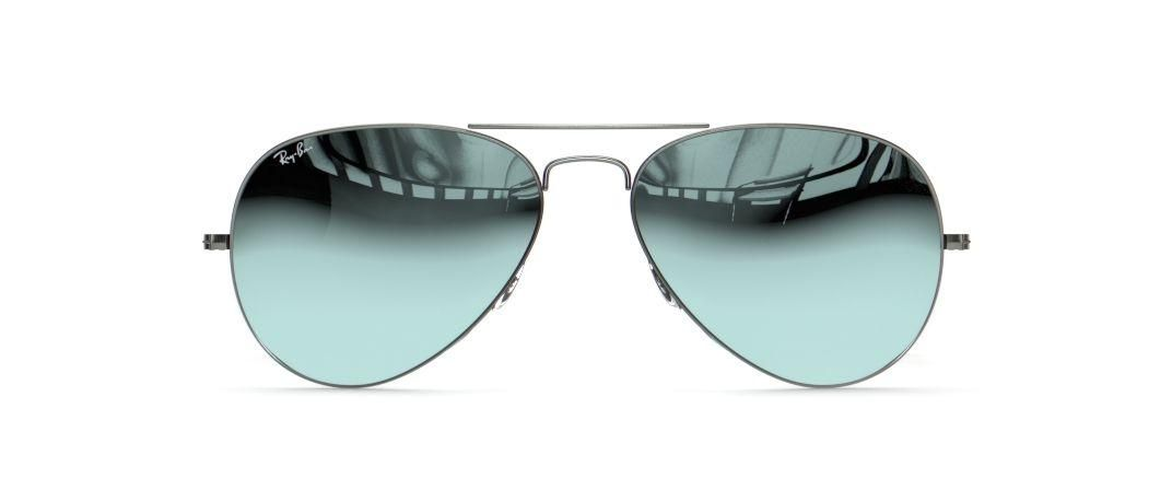Ray-Ban RB 3025 Aviator Large Metal front view