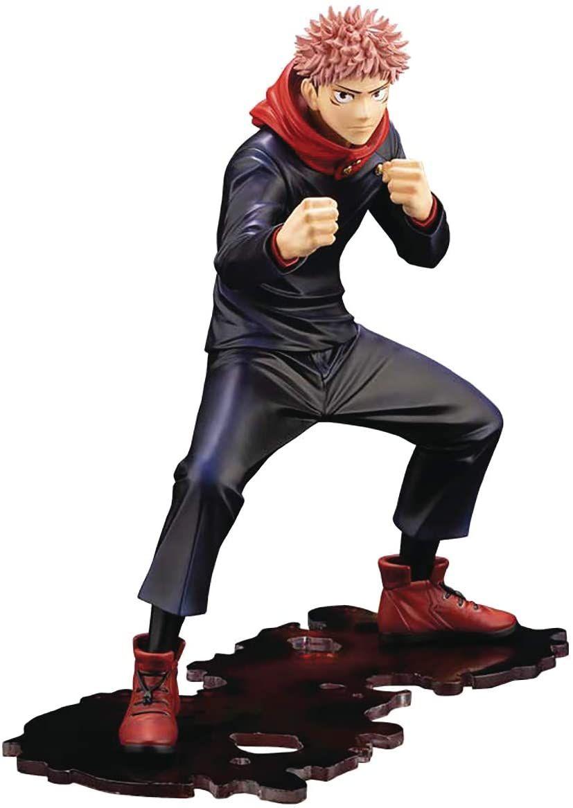 Kotobukiya Jujutsu Kaisen Yuji Itadori Artfx J Statue In 2021 Jujutsu Anime Figures Statue
