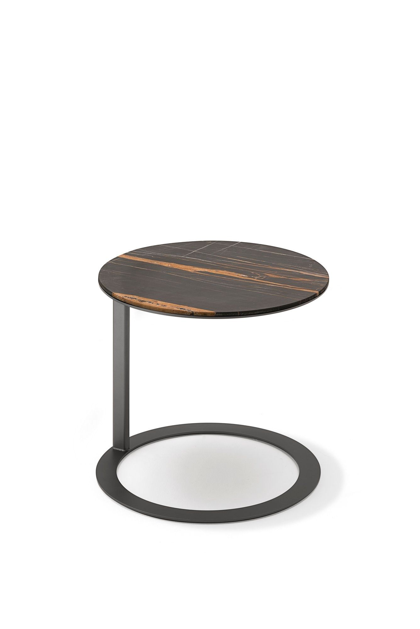 Round Side Table Tethys By Living Divani Design Gabriele E Oscar