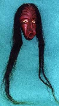 Iroquois Dream Catchers Iroquois whistling mask Medea Masks and Makeup Pinterest 30