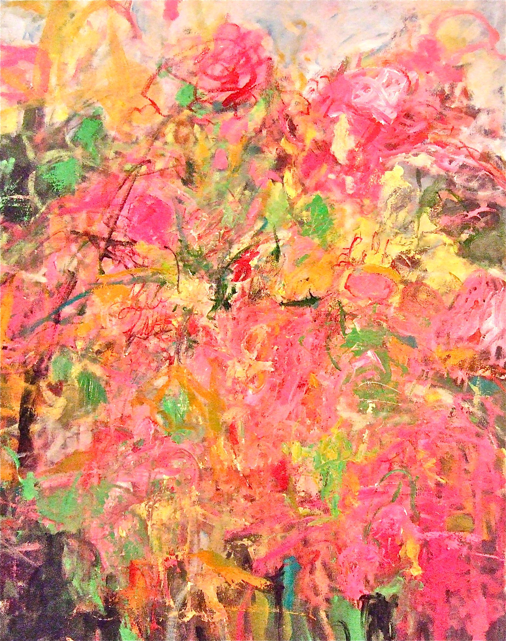 Flowers for LILLY P...  artist, Sandy Welch