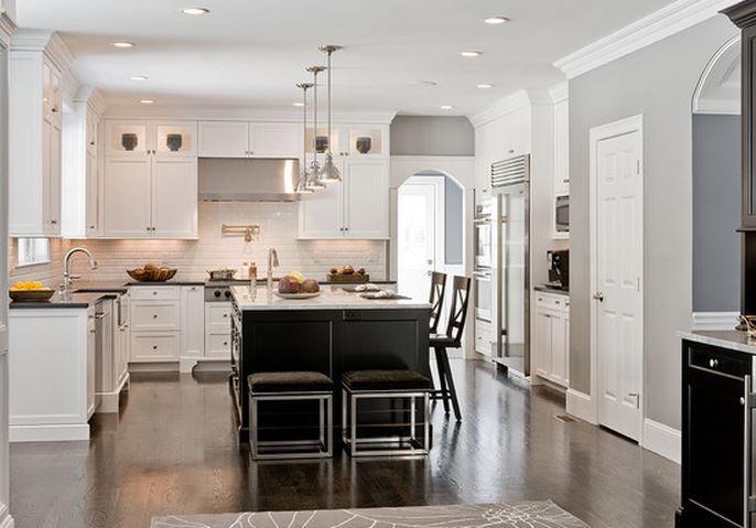 idee couleur de peinture pour salle a manger salon cuisine ouverte
