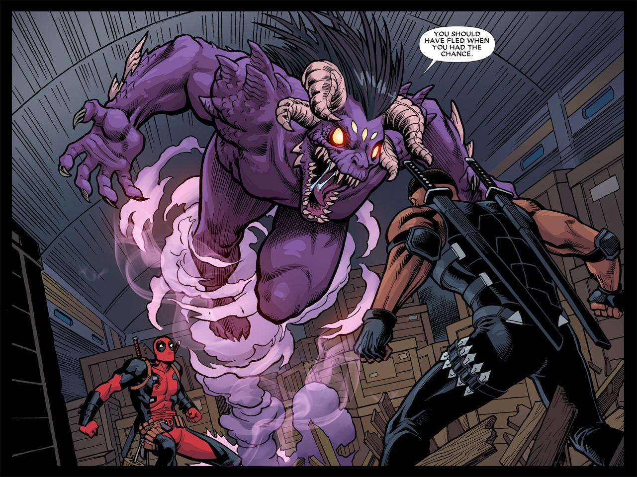 Blade vs Shiklah Comics love, Marvel deadpool, Marvel vs dc