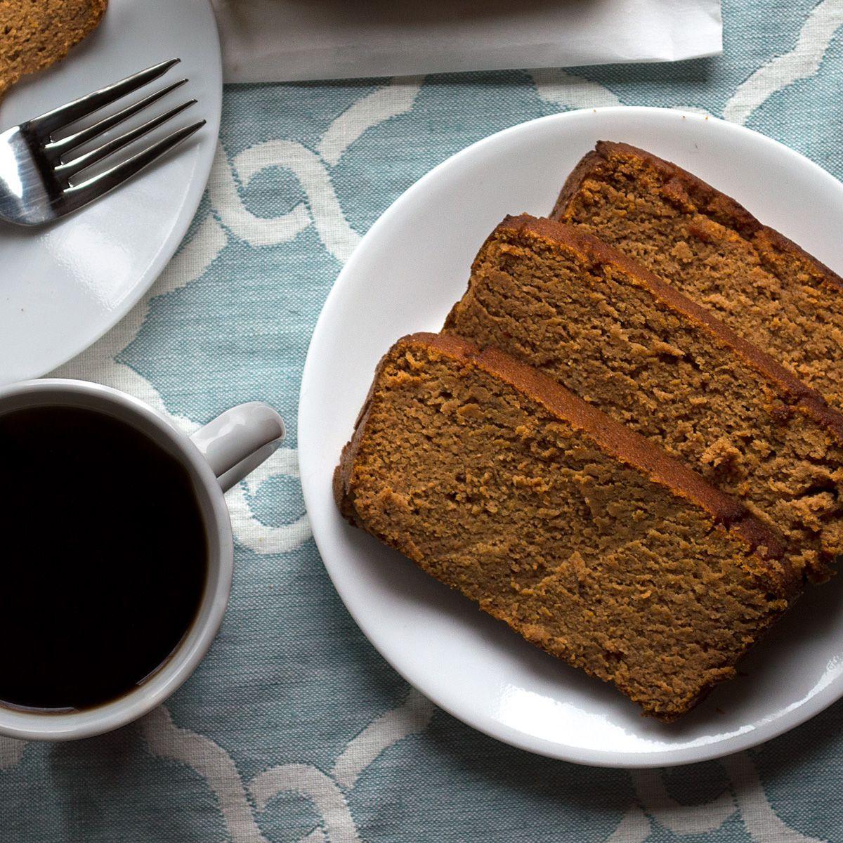 Low Sugar Gluten Free Pumpkin Bread | Recipe | Coconut ...