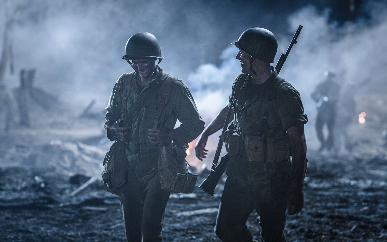 World War II Soldiers   Andrew Garfield in Hacksaw Ridge